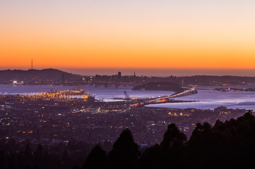 Oakland Sunset by Thomas Hawk
